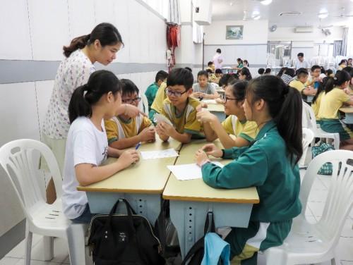 「培訓老師指導中一學生學習」工作坊